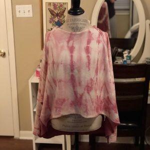 Free people tie dye sweater